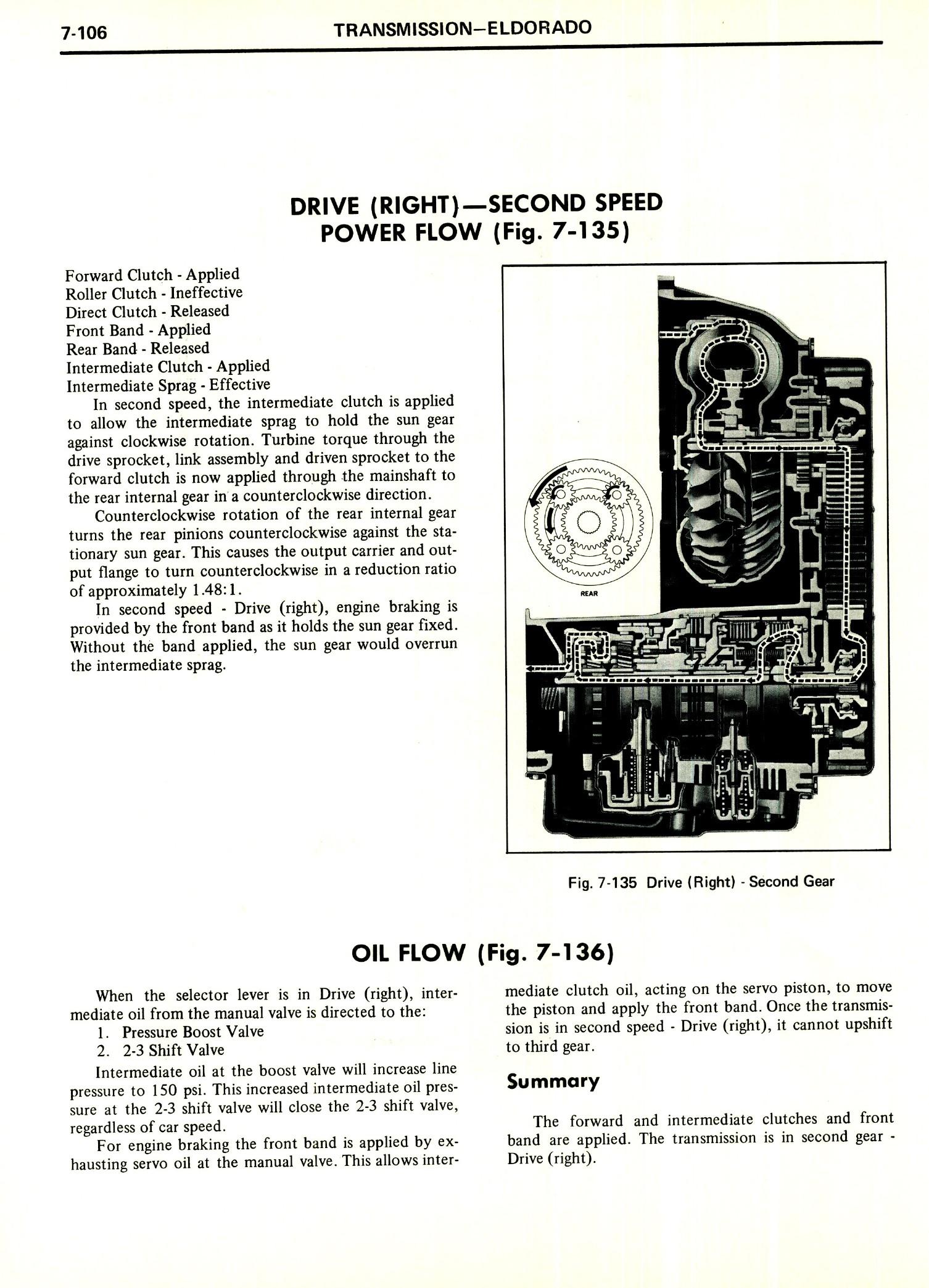 1971 Cadillac Shop Manual- Transmission Page 106 of 156