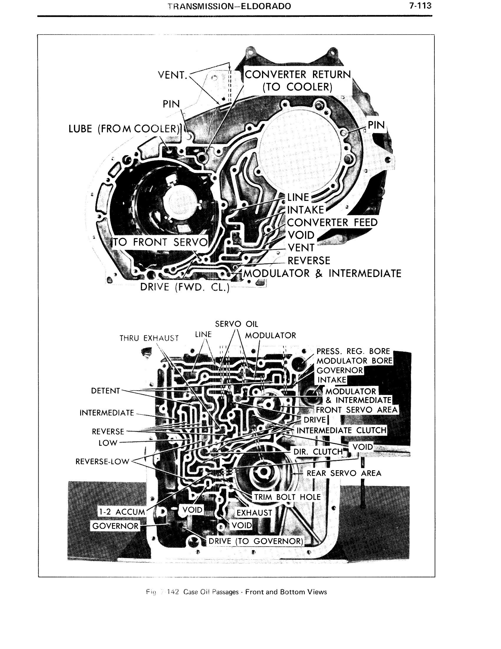 1971 Cadillac Shop Manual- Transmission Page 113 of 156