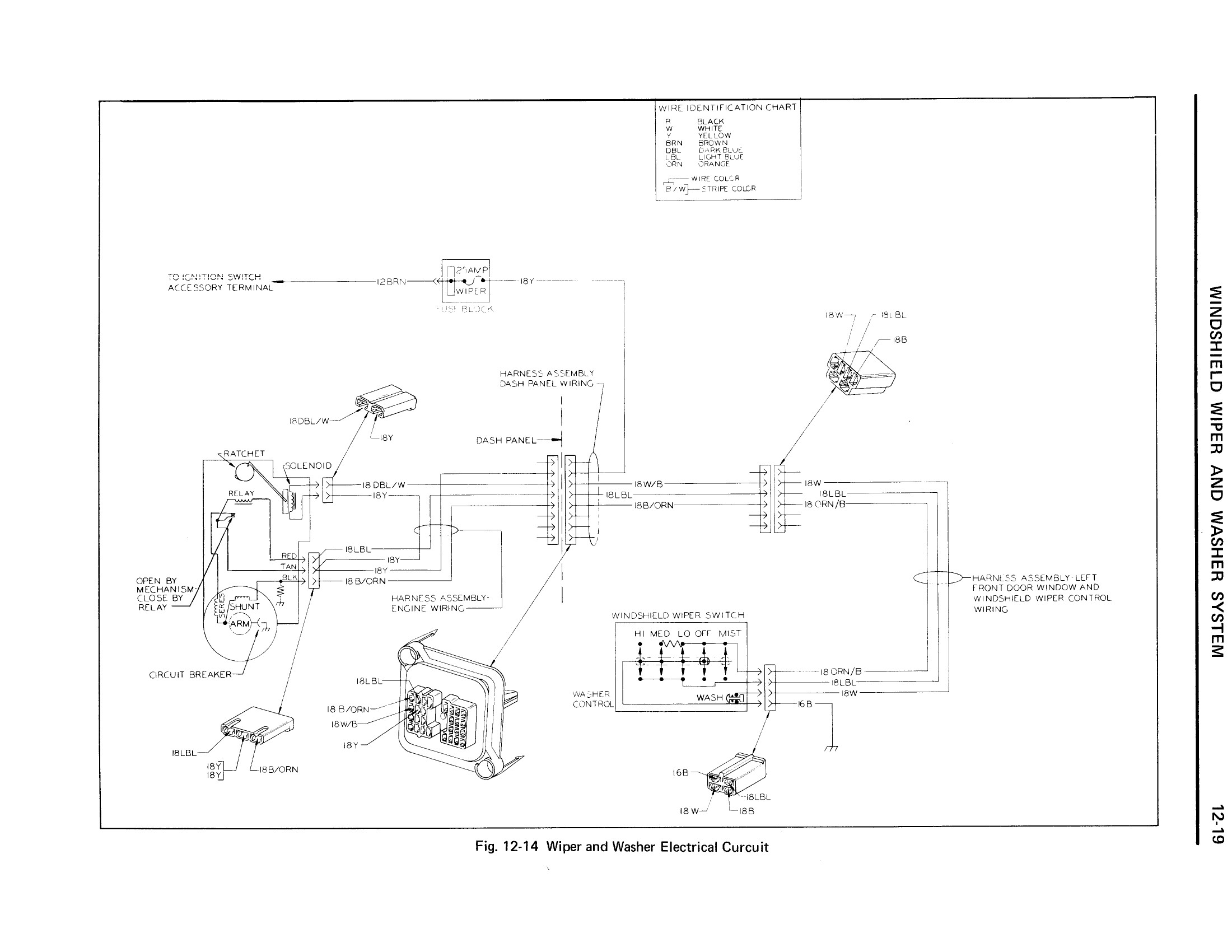 1971 Cadillac Shop Manual- Chassis Electrical Page 19 of 74