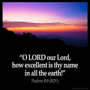 Psalms_8-9 thy name