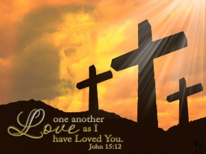love one another crosses