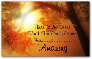 Grace amazing