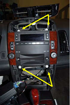 2004 Cadillac Radio Wiring Diagram Center Console Removal Help