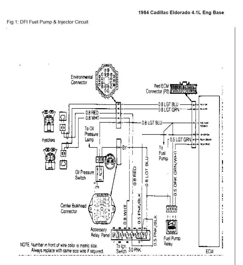 1997 Cadillac Deville Wiring Diagrams • Wiring Diagram For