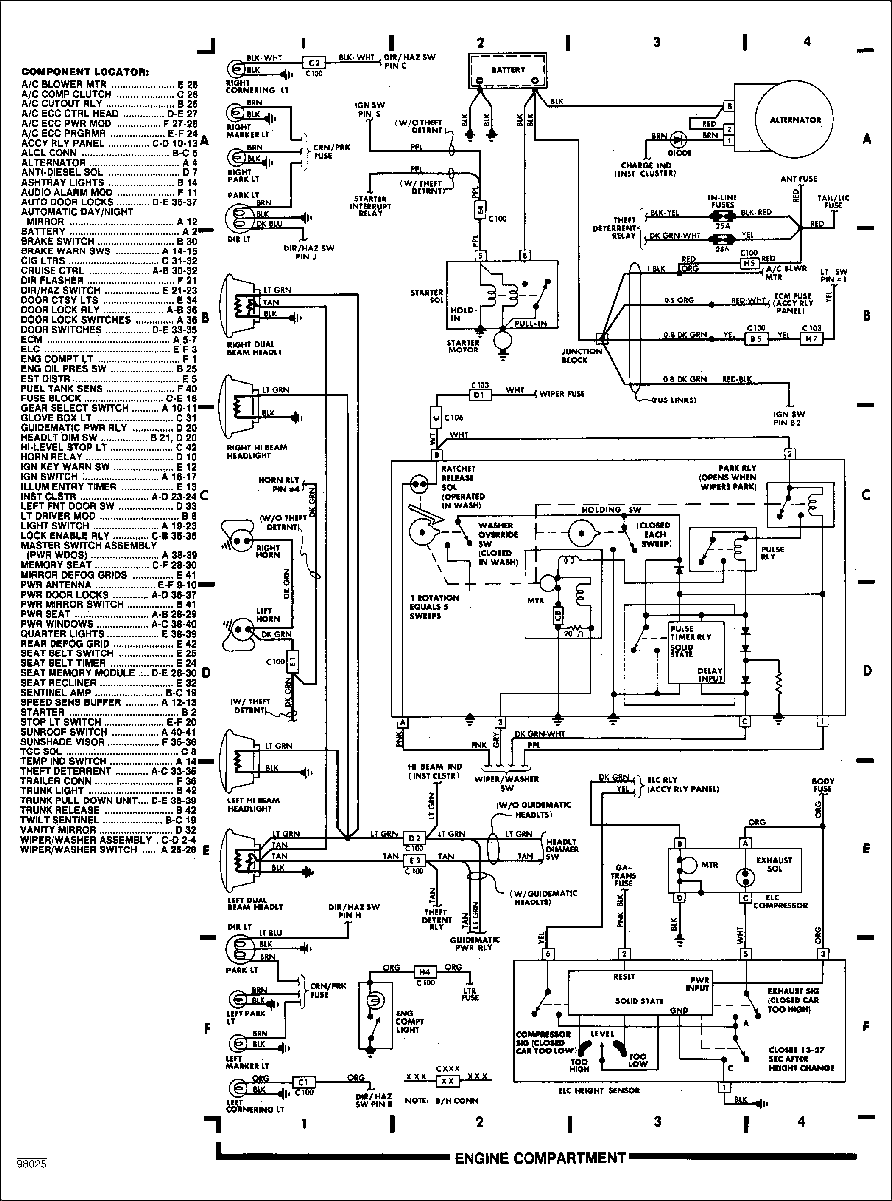 [DIAGRAM] 1991 Cadillac Brougham Wiring Diagram FULL