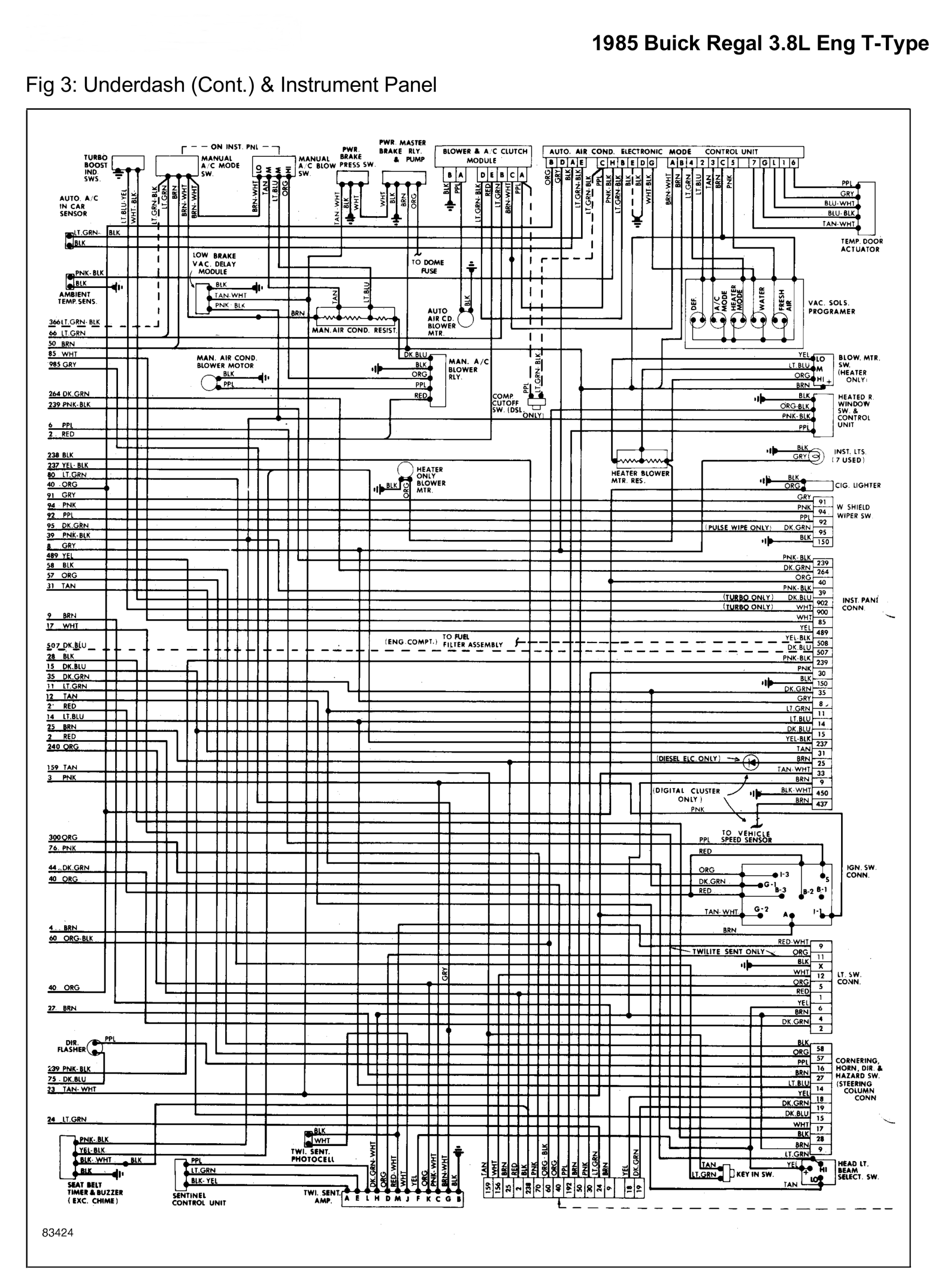 hight resolution of 85 buick regal fuse box