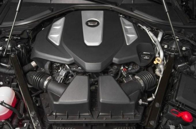 Cadillac 2019 CT8 Engine