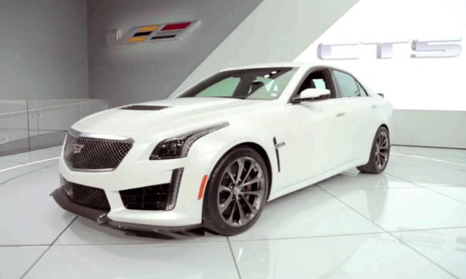 2020 Cadillac CTS V Exterior