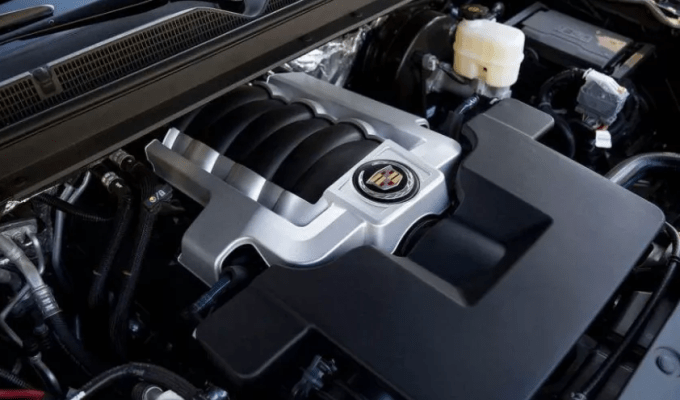 2020 Cadillac Escalade ESV Engine