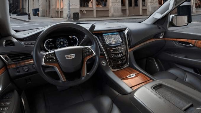 2020 Cadillac Escalade Platinum Interior
