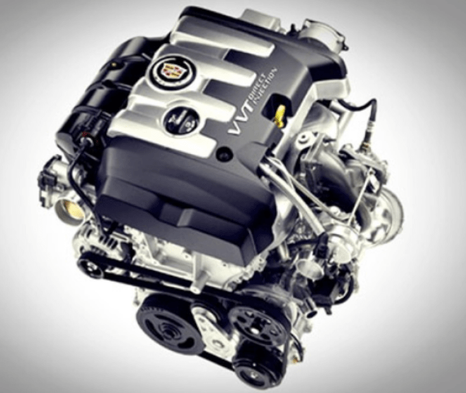 Cadillac 2019 XT4 Engine