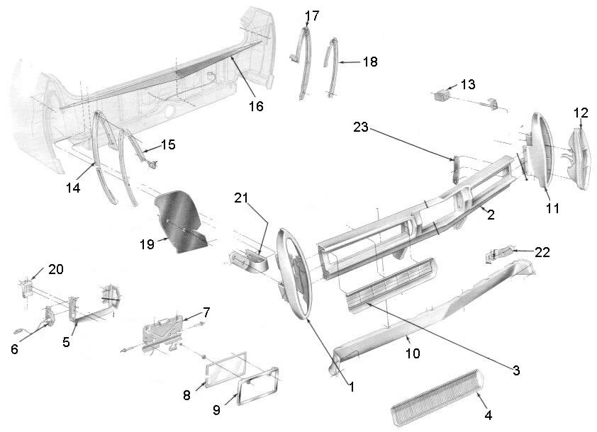 1961 Cadillac Coupe Deville Convertible Wiring Diagrams