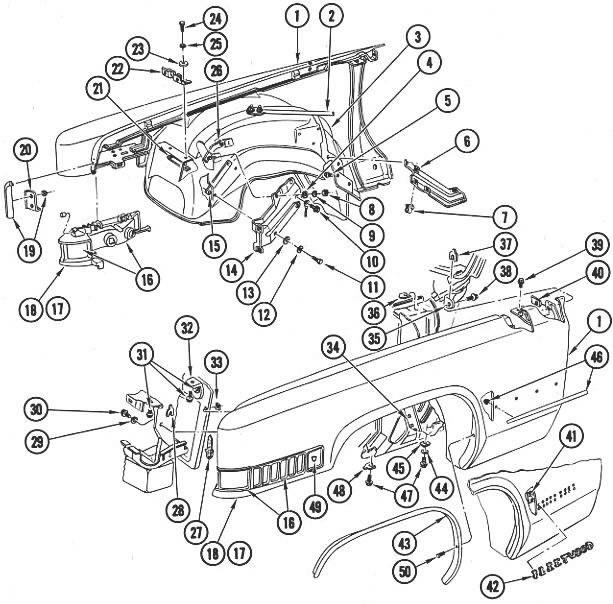 Install 1970 Cadillac Deville Transmission Diagram