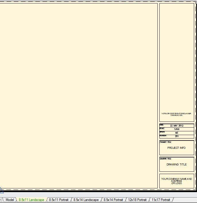 Free Autocad Title Blocks Cad Intentions