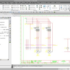 Circuit Diagram Maker 4 Channel Wiring 3d Schematic Software Electrical For Plant Engineeringintelligent Sld U0027s Diagrams With Cadison