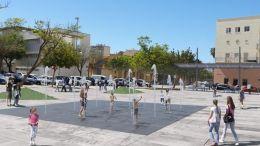 Imagen del proyecto que propone el PSOE en la Barriada de la Paz