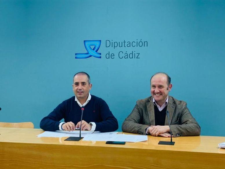 Antonio Saldaña y Juancho Ortiz