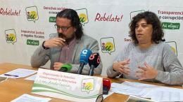 Carmen Álvarez junto a Fernando Macías en una imagen de archivo