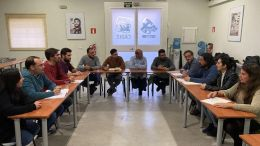 Encuentro de los alcaldes de IU para abordar la situación del Consorcio de basuras