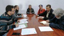 Reunión entre Adelante Andalucía y la Asociación Bahía de Cádiz