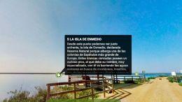 Ruta virtual por el sendero Marismas del Odiel en Huelva