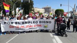 Cargos públicos de IU Cádiz en el 1 de Mayo 2019