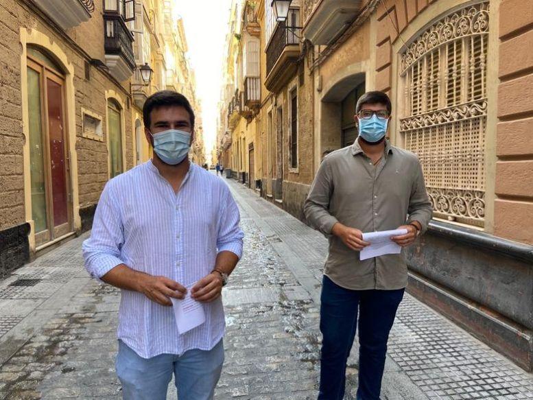 Fran Moreno y Gonzalo Oliver