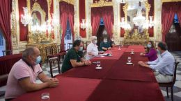 Reunión con el comité de Navantia Cádiz