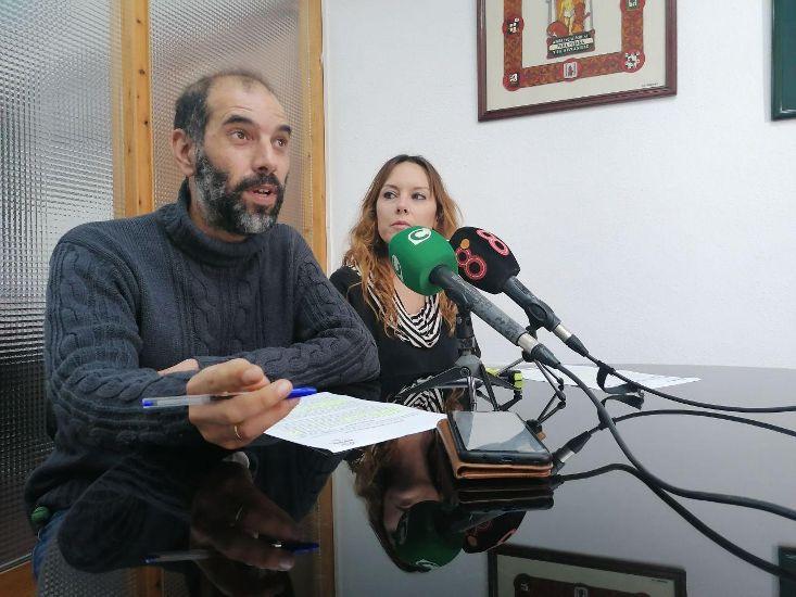 Lorena Garrón y Antonio Romero