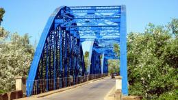 Puente de hierro de La Barca de la Florida