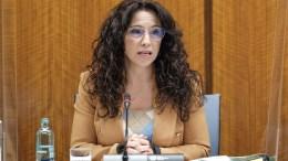 La consejera de Igualdad, Políticas Sociales y Conciliación, Rocío Ruiz, inicia su comparecencia