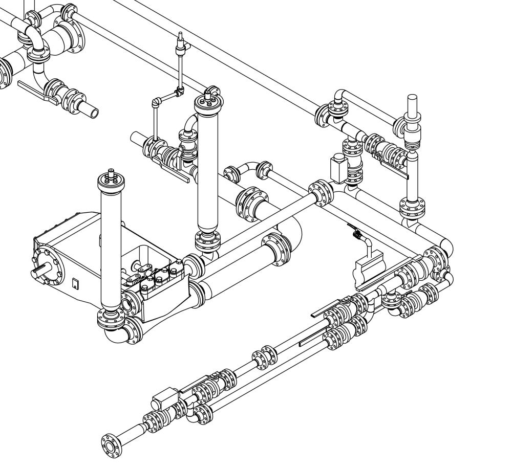 hight resolution of bim plumbing creations