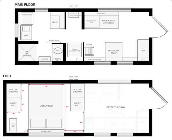 Easy Tiny House Floor Plan Software