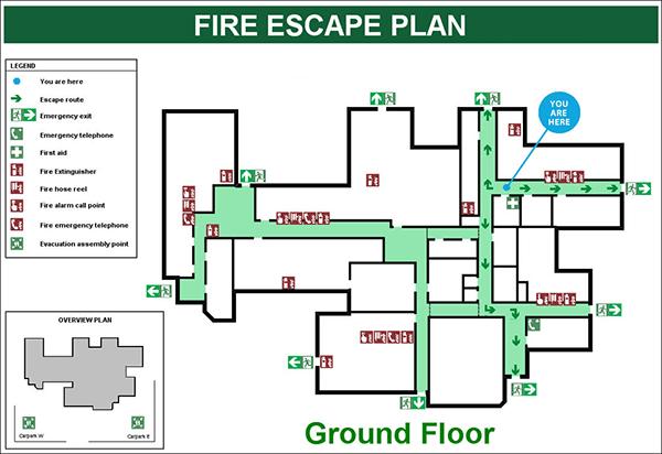 Guidelines For Building Evacuation Diagrams