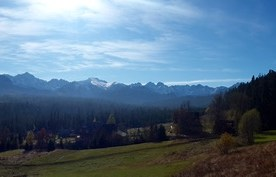 Panorama z Ryniasu