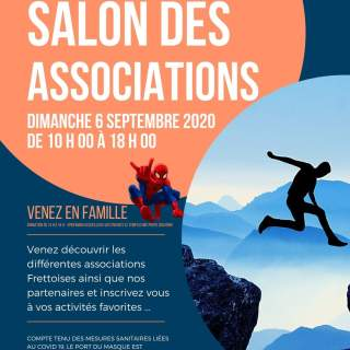 Affiche Salon des associations 2020