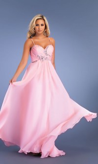 Plain Pink Dress makes you stand out!   Dress Store CA