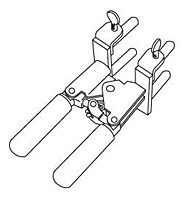 Item # B854A1, Mold Support Bracket On United Electrical