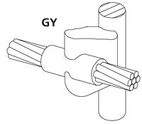 Cable To Ground Rod Copper Clad, Plain (Unthreaded) Rod