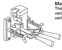 Item # B159M, Magnetic Handle Clamp On United Electrical