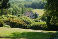 The Walk Down the Hill from New Scotney Castle to Old Scotney Castle