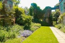 The Gardens at Old Scotney Castle, Lamberhurst, Kent, UK