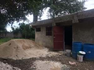 Construction du CAEJ Haïti