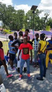 Sortie au parc avec les jeunes du CAEJ - Haïti