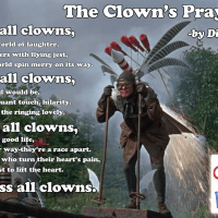 God Bless All Clowns - without borders.