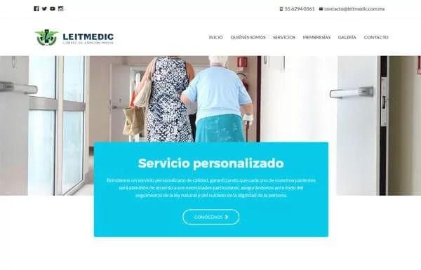 Leitmedic – Sitio Web