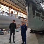 """Retour sur le Café Maritime au chantier  """"Normandy Yacht Service"""""""
