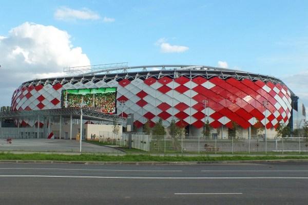Facade Grid Structure Spartak Stadium - Graitec Canada