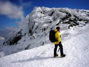 Snowdon in April
