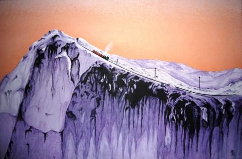 Snowdon by Malcolm Gwyon